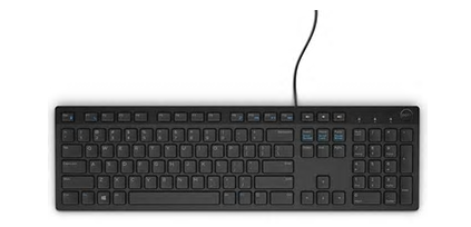 Dell KB216 Multimedia Tastatur (schwarz)